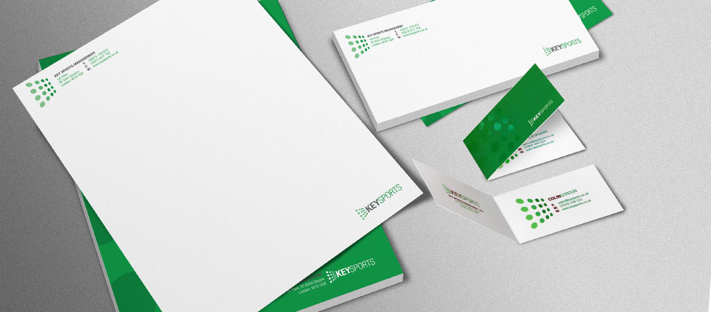 Business cards, letterheads and comp slips and stationery printing